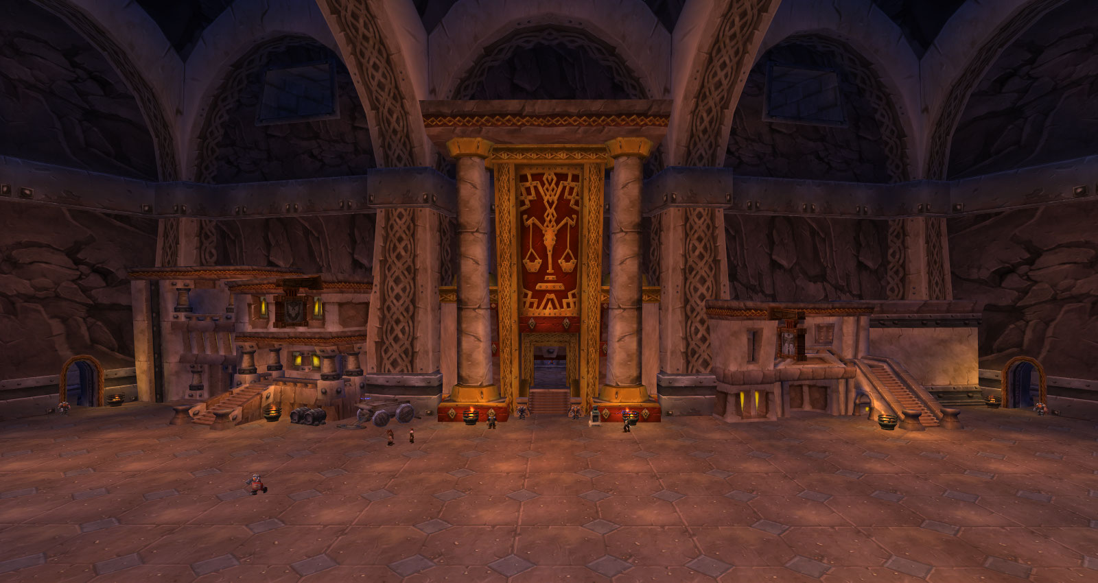 Superior The Entrance To Ironforge. Looking ...