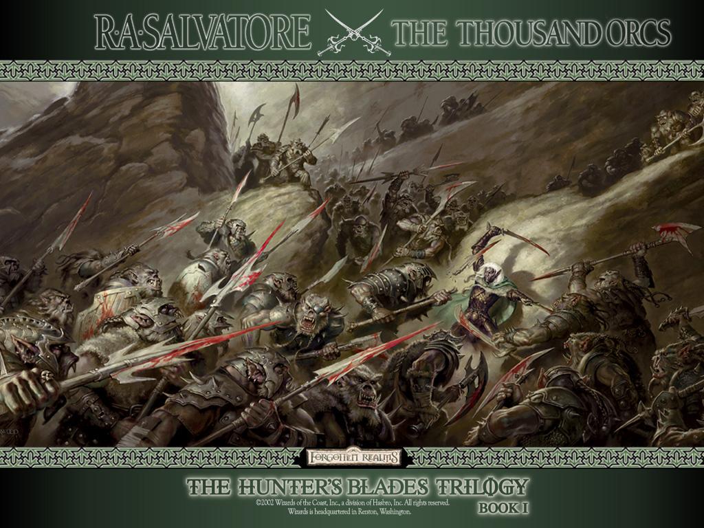 The Thousand Orcs Ra Salvatore