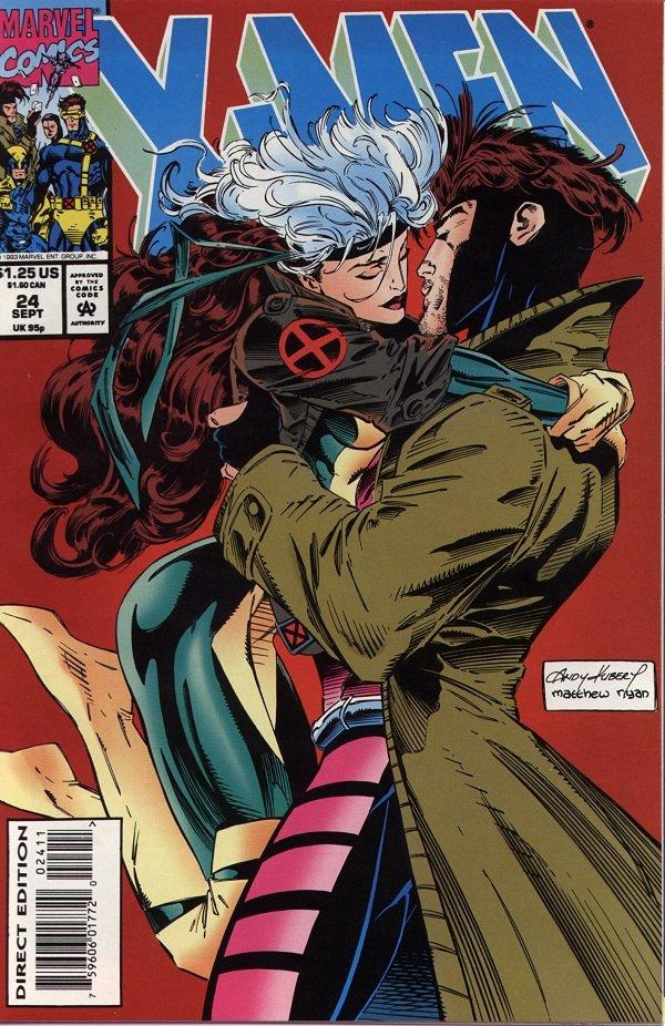 gambit and rogue kiss-#29